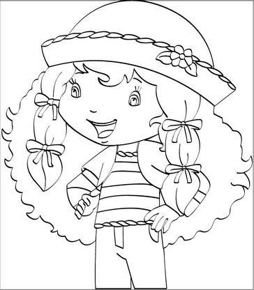 Coloriage charlotte aux fraises 65 coloriage charlotte aux fraises coloriages dessins animes - Coloriages charlotte aux fraises ...