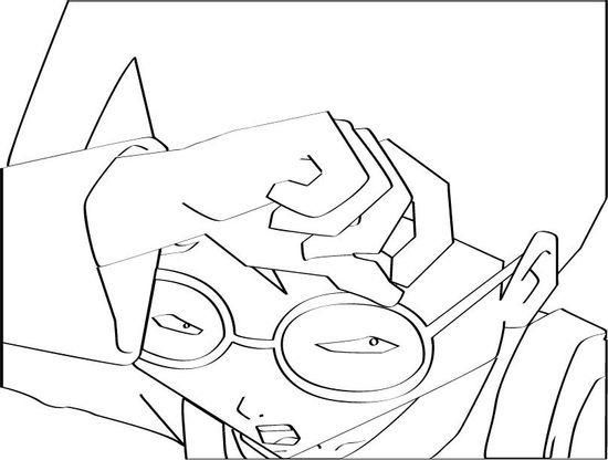 Coloriage code lyoko 26 coloriage code lyoko coloriages dessins animes - Coloriage virtuel ...