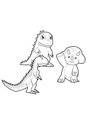 Coloriage dinosaur king 14 coloriage dinosaur king - Dinosaure dessin anime disney ...