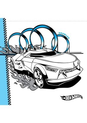 Coloriage growler coloriage hot wheels coloriages - Dessin hot wheels ...