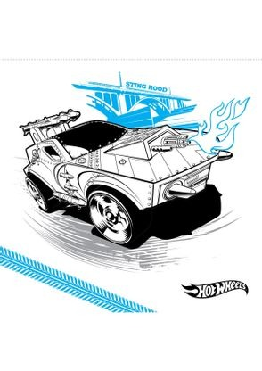 Coloriage sting rood coloriage hot wheels coloriages dessins animes - Coloriage hot wheels ...