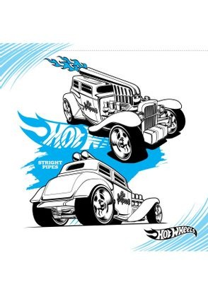 Coloriage stright pipes coloriage hot wheels - Dessin hot wheels ...
