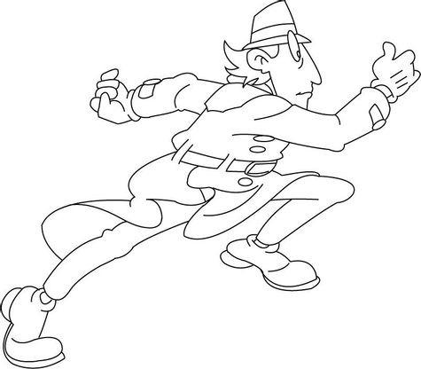Coloriage inspecteur gadget 6 coloriage inspecteur gadget coloriages dessins animes - Inspecteur gadget dessin anime ...