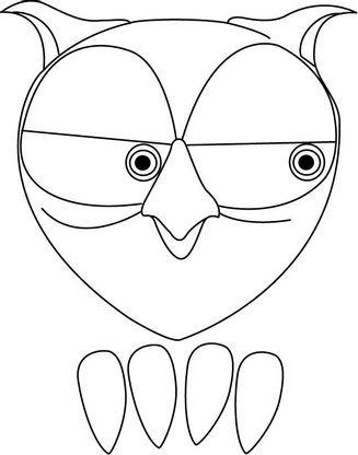 Coloriage la chouette 5 coloriage la chouette coloriages dessins animes - Gulli fr coloriage ...