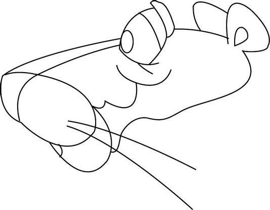 Coloriage la panth re rose 14 coloriage la panthere rose coloriages dessins animes - La panthere rose en dessin anime ...
