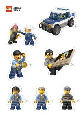 Coloriage lego city les personnages de la police coloriage lego city coloriages dessins animes - Lego city a colorier ...
