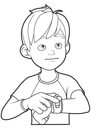 Coloriage linus et boom 14 coloriage linus et boom - Boom dessin anime ...