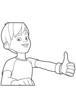 Coloriage linus et boom 15 coloriage linus et boom - Boom dessin anime ...