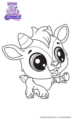 Coloriage quincy coloriage littlest petshop a world of our own coloriages dessins animes - Dessin anime littlest petshop ...
