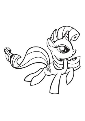 Coloriage my little pony 15 coloriage my little pony coloriages dessins animes - My little pony dessin anime ...