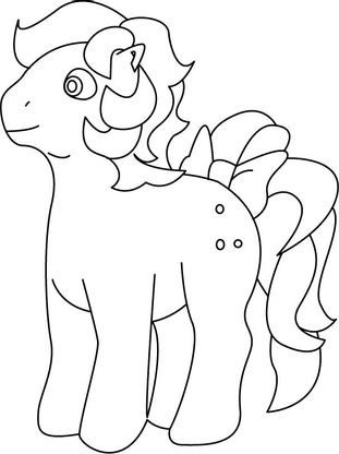 Coloriage my little pony 21 coloriage my little pony coloriages dessins animes - Pony dessin anime ...