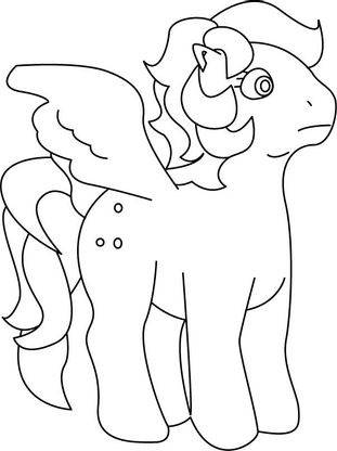 Coloriage my little pony 22 coloriage my little pony - My little pony en dessin anime ...