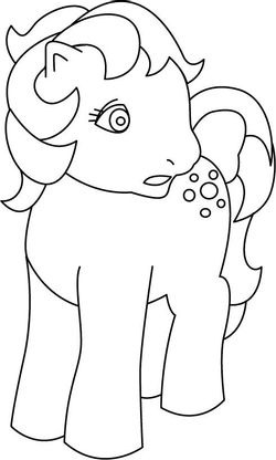 Coloriage my little pony 23 coloriage my little pony coloriages dessins animes - Pony dessin anime ...