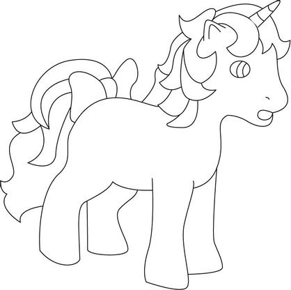 Coloriage my little pony 25 coloriage my little pony coloriages dessins animes - Pony dessin anime ...