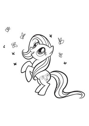 Coloriage my little pony 6 coloriage my little pony - My little pony en dessin anime ...