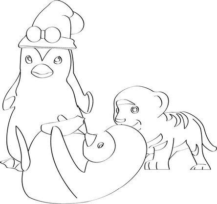 Coloriage ozie boo 66 coloriage ozie boo coloriages dessins animes - Gulli fr coloriage ...