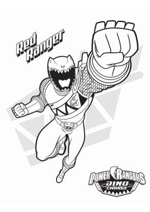 Coloriage le power ranger rouge coloriage power rangers dinocharge coloriages dessins animes - Dessin power rangers ...