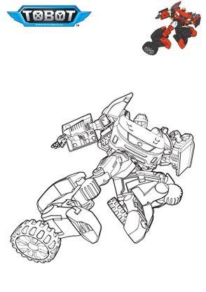 Coloriage tobot z coloriage tobot coloriages dessins animes - Coloriage tobot ...