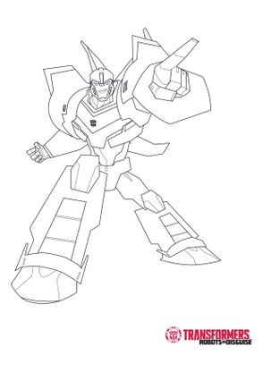 Coloriage bumblebee 2 coloriage transformers robots in - Dessin anime transformers ...