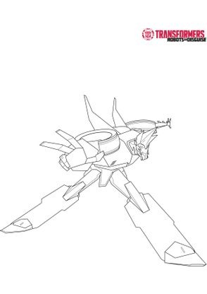 Coloriage sideswipe 3 coloriage transformers robots in - Dessin anime transformers ...