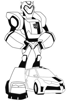 Coloriage transformers bumblebee 6 coloriage transformers coloriages dessins animes - Dessin de transformers ...