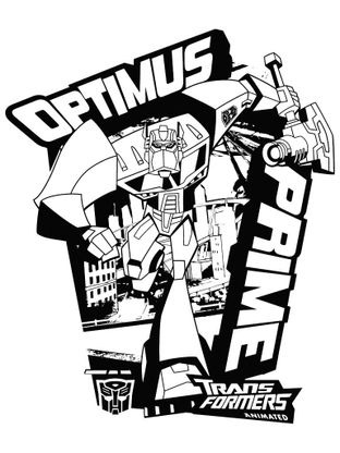 Coloriage transformers optimus prime 9 coloriage transformers coloriages dessins animes - Dessin optimus prime ...