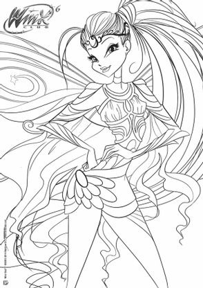 Coloriage winx club stella coloriage winx club - Bloom dessin anime ...