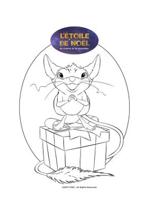 Petite souris coloriage - Imprimer coloriage petite souris ...