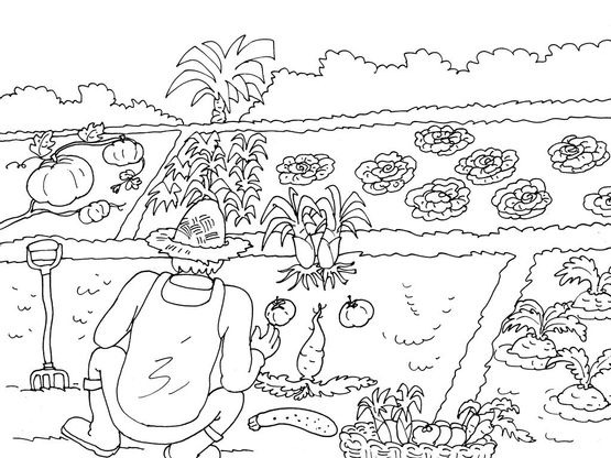 coloriage jardinier 19 coloriage jardiniers coloriages metiers. Black Bedroom Furniture Sets. Home Design Ideas