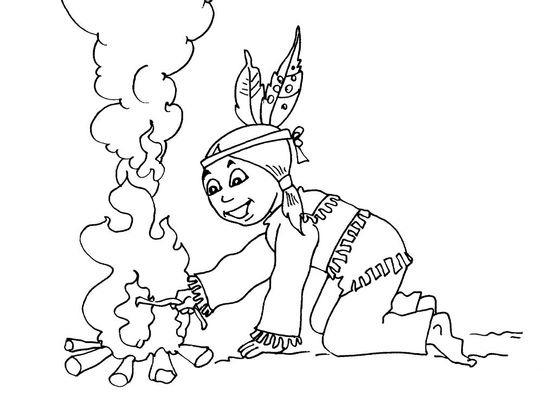 Coloriage petit indien 24 coloriage enfants garcons indien coloriages personnages - Coloriage petit indien imprimer ...