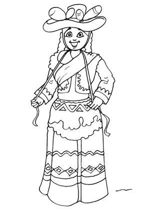 Coloriage incas 29 coloriage incas coloriages personnages - Coloriage personnages ...