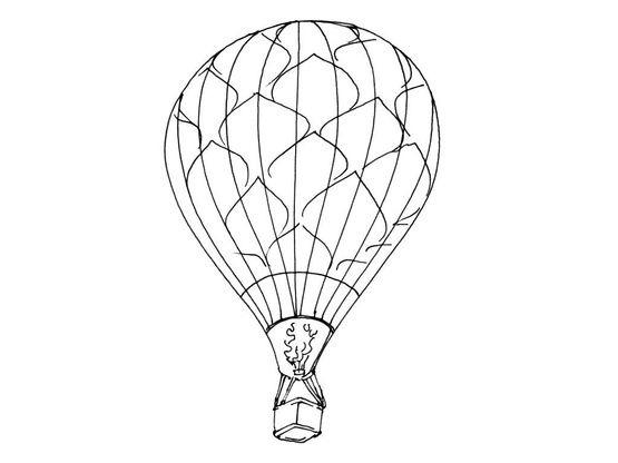 Coloriage ballon dirigeable 11 coloriage ballons - Ballon coloriage ...
