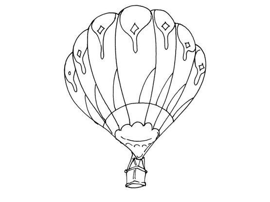 Coloriage ballon dirigeable 9 coloriage ballons - Ballon coloriage ...