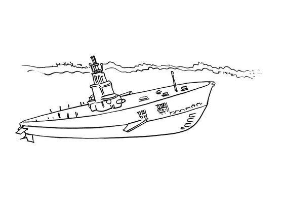 Coloriage sous marin 4 coloriage sous marins - Dessin sous marin ...