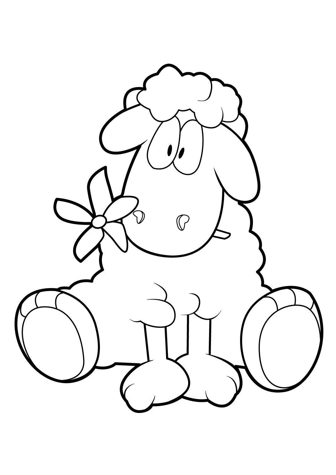 Coloriage Mouton 18 Coloriage Moutons Coloriages Animaux