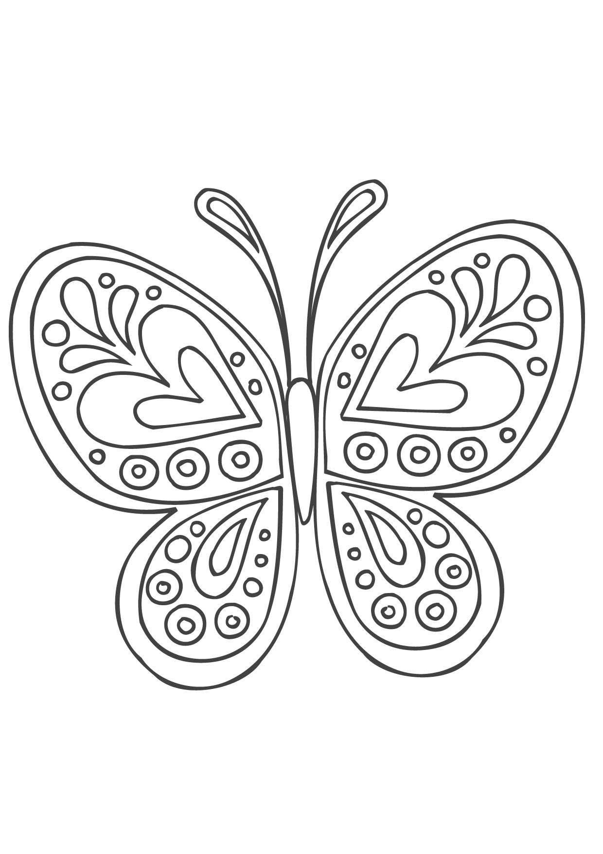 Coloriage Mandala Papillon Coloriage Mandalas Coloriages