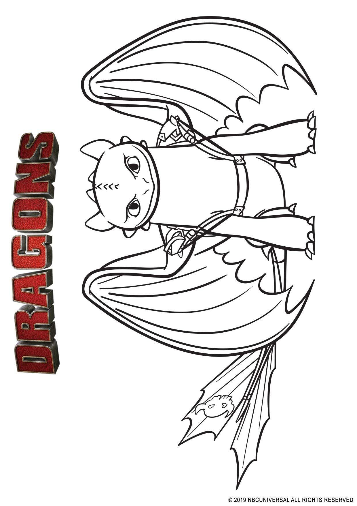 Coloriage Krokmou Sérieux Coloriage Dragons Par Dela Les Rives Coloriages Dessins Animes