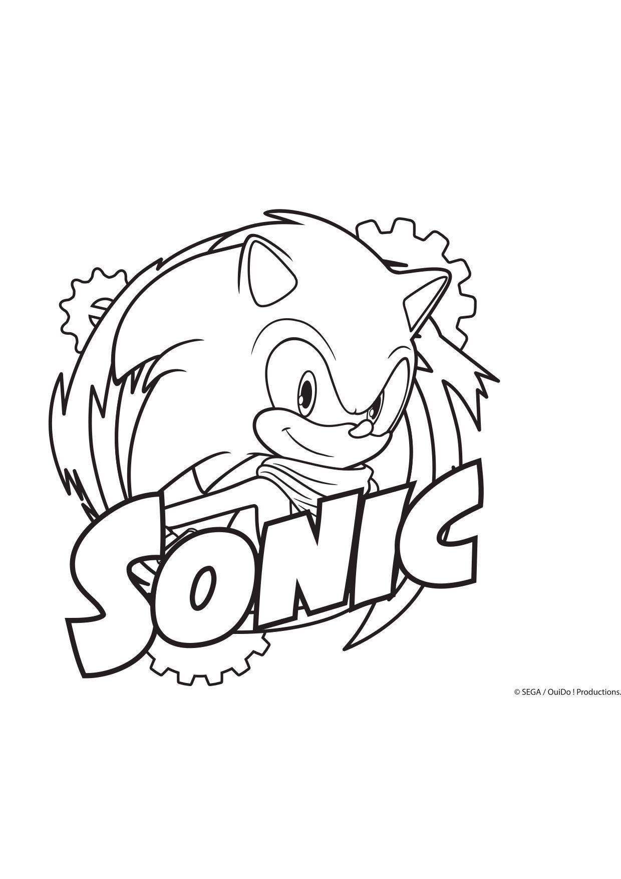 Coloriage Sonic Coloriage Sonic Boom Coloriages Dessins Animes