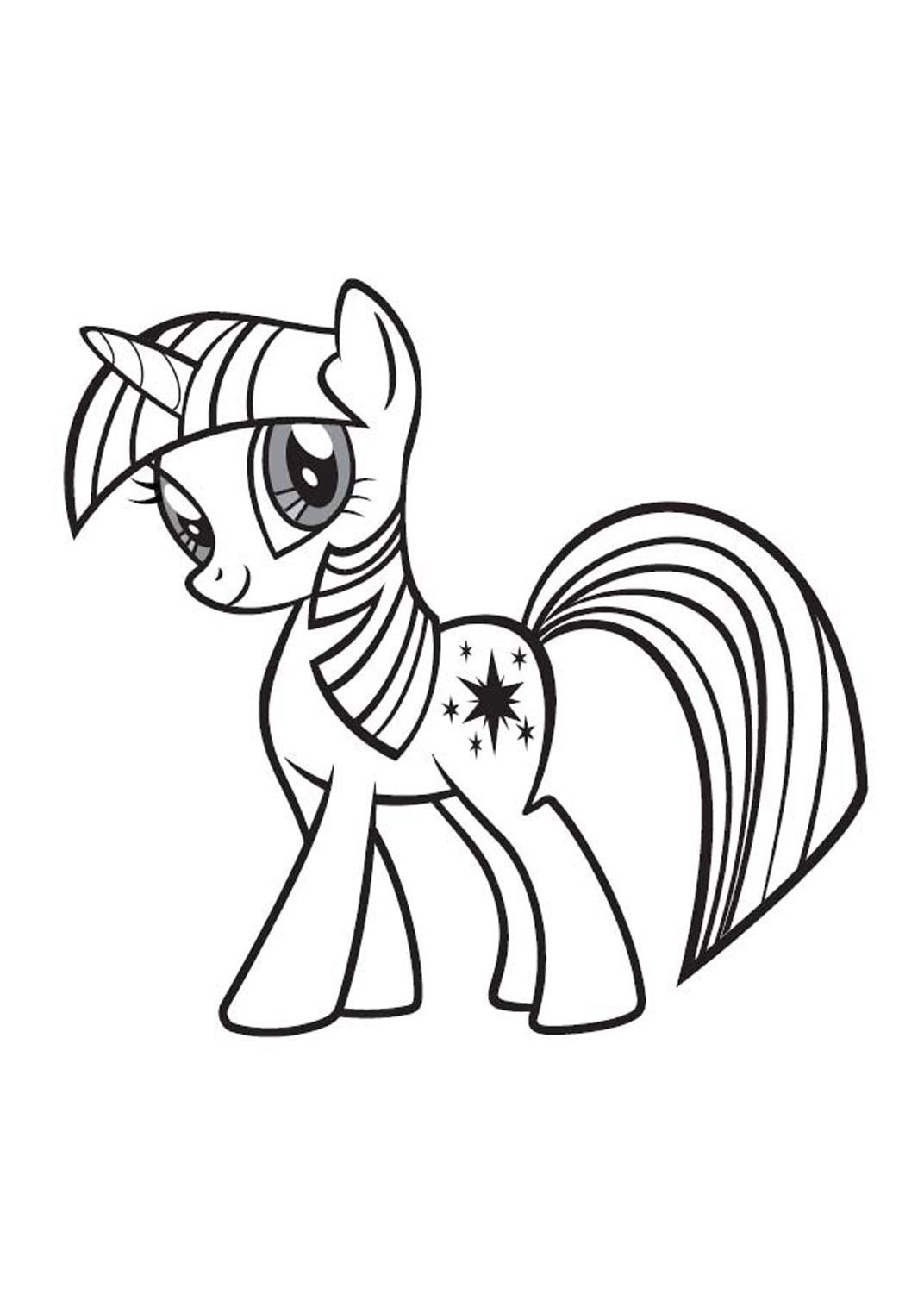 Coloriage My Little Pony 16 - Coloriage My Little Pony - Coloriages Dessins animes