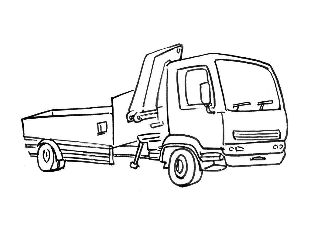 Coloriage Camion 11 - Coloriage Camions - Coloriages ...