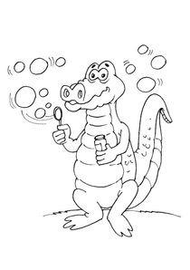 Coloriages Crocodiles à Imprimer Coloriages Animaux