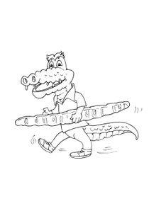 Coloriages Crocodiles A Imprimer Coloriages Animaux