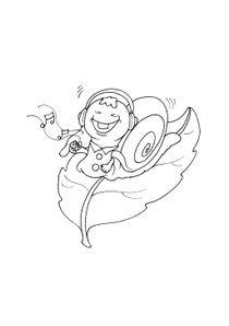 Coloriages Escargots A Imprimer Coloriages Animaux