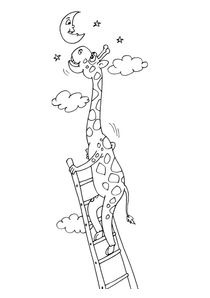 Coloriages Girafes A Imprimer Coloriages Animaux
