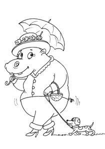 Coloriages Hippopotames à Imprimer Coloriages Animaux