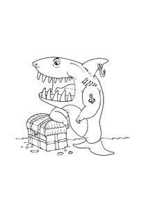 Coloriages Requins à Imprimer Coloriages Animaux