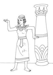 Coloriage Egypte