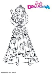 Coloriages Barbie Dreamtopia à Imprimer Coloriages Dessins