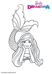Coloriages Barbie Dreamtopia A Imprimer Coloriages Dessins Animes
