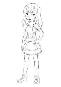 Coloriages Lego Friends à Imprimer Coloriages Dessins Animes